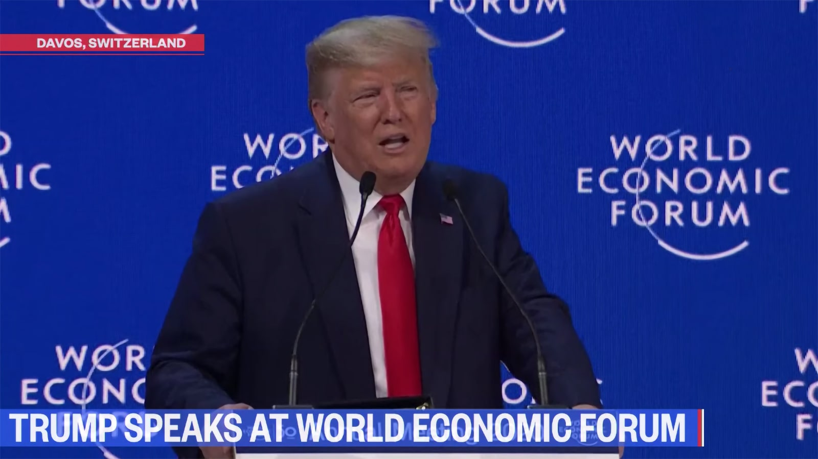 Trump blasts 'radical socialist' climate alarmists as 'heirs of yesterday's foolish fortune-tellers'
